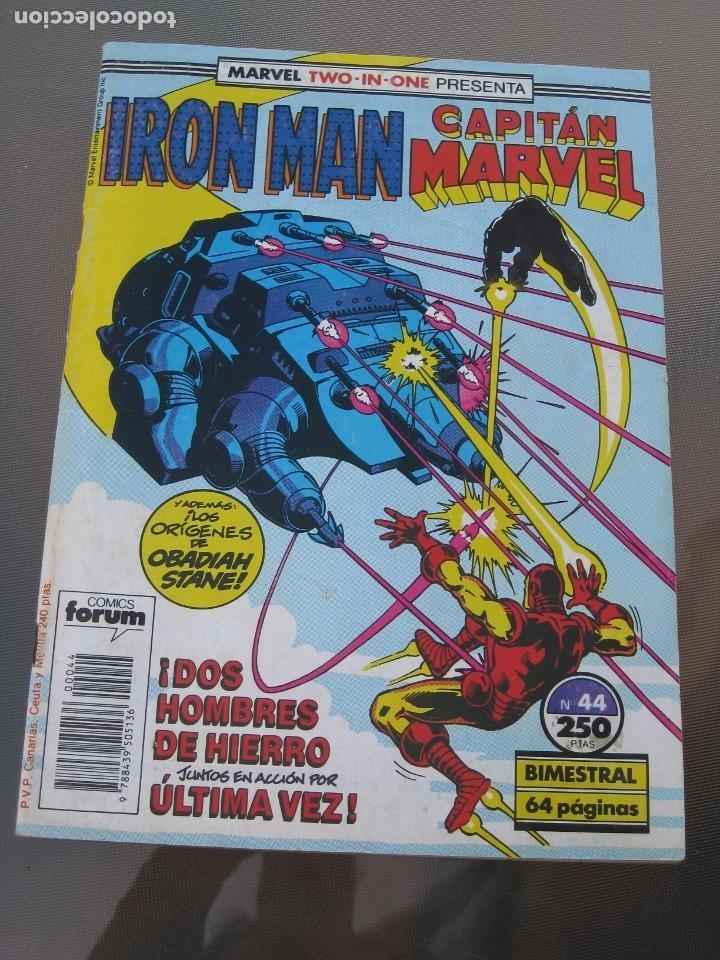Cómics: Iron Man. Captian Marvel. Nº 44. 1989 - Foto 5 - 219042123