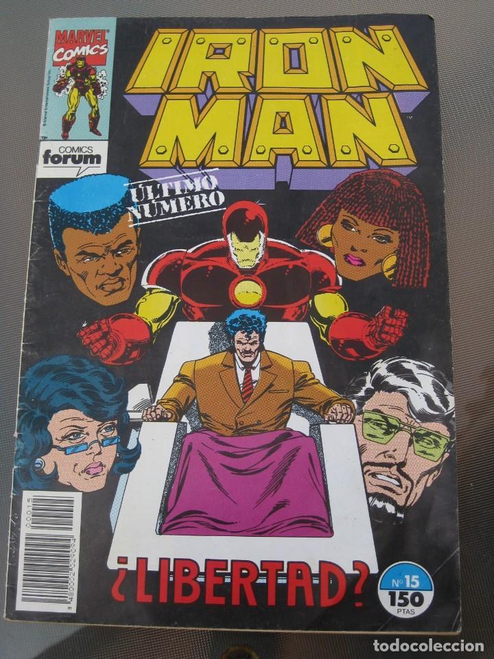 IRON MAN. Nº 15. ULTIMO NUMERO. (Tebeos y Comics - Forum - Iron Man)