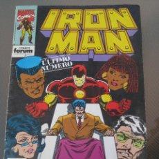 Cómics: IRON MAN. Nº 15. ULTIMO NUMERO.. Lote 219042296