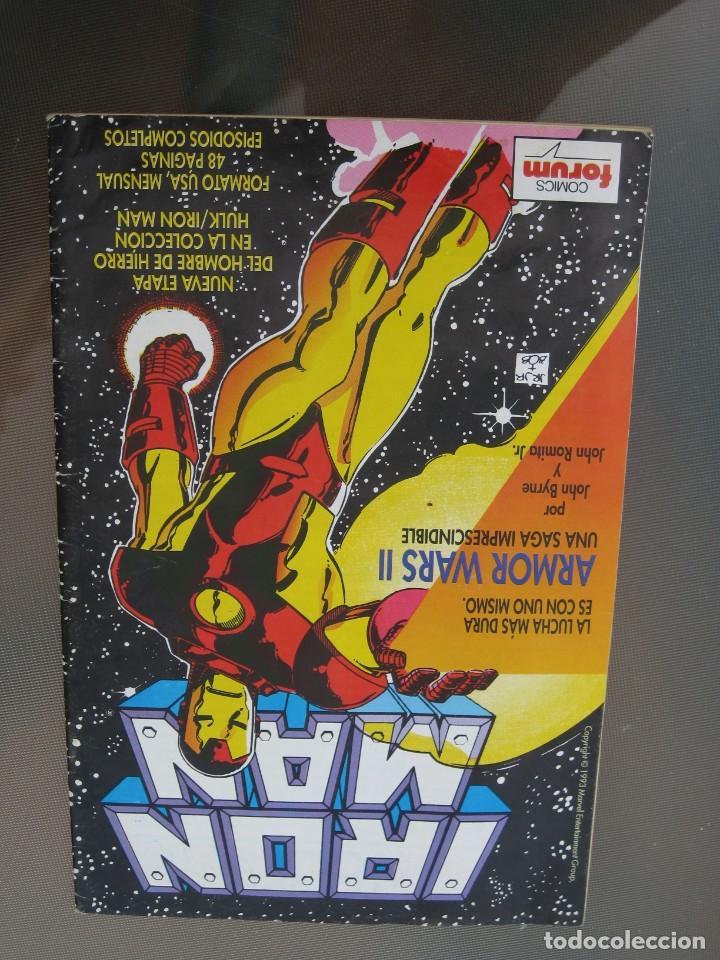 Cómics: Iron Man. Nº 15. Ultimo numero. - Foto 2 - 219042296