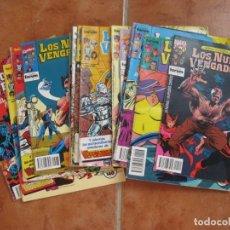 Cómics: LOTE DE 15 TEBEOS. LOS NUEVOS VENGADORES.. Lote 219044063