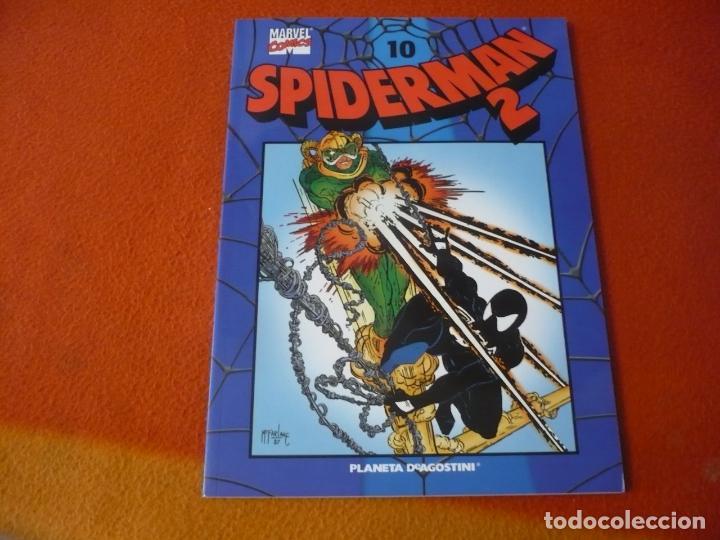 SPIDERMAN COLECCIONABLE 2 Nº 10 VENENO ¡BUEN ESTADO! MARVEL FORUM AZUL (Tebeos y Comics - Forum - Spiderman)