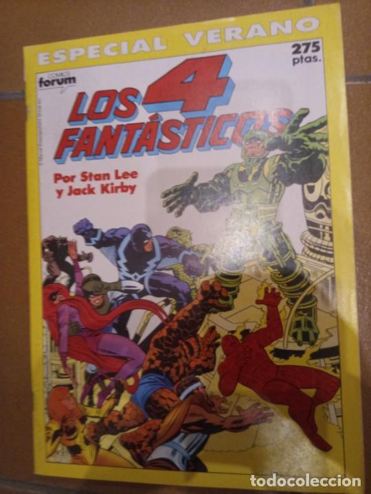 LOS 4 FANTÁSTICOS. ESPECIAL VERANO 1990 (Tebeos y Comics - Forum - 4 Fantásticos)
