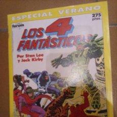 Cómics: LOS 4 FANTÁSTICOS. ESPECIAL VERANO 1990. Lote 243787545