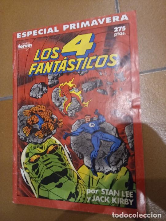 LOS 4 FANTÁSTICOS. ESPECIAL PRIMAVERA 1989 (Tebeos y Comics - Forum - 4 Fantásticos)