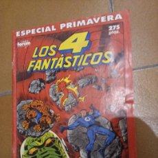 Cómics: LOS 4 FANTÁSTICOS. ESPECIAL PRIMAVERA 1989. Lote 243787580