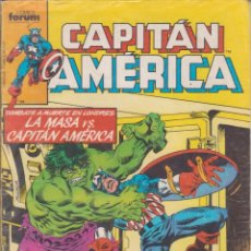 Cómics: COMIC MARVEL CAPITÁN AMÉRICA Nº 17 ED. FORUM. Lote 219120666