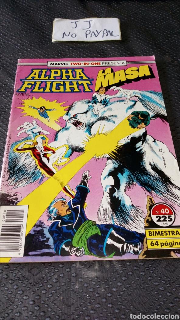 ALPHA FLIGHT LA MASA FORUM COMICS 40 TWO IN ONE (Tebeos y Comics - Forum - Alpha Flight)