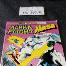 Cómics: ALPHA FLIGHT LA MASA FORUM COMICS 40 TWO IN ONE. Lote 219157850
