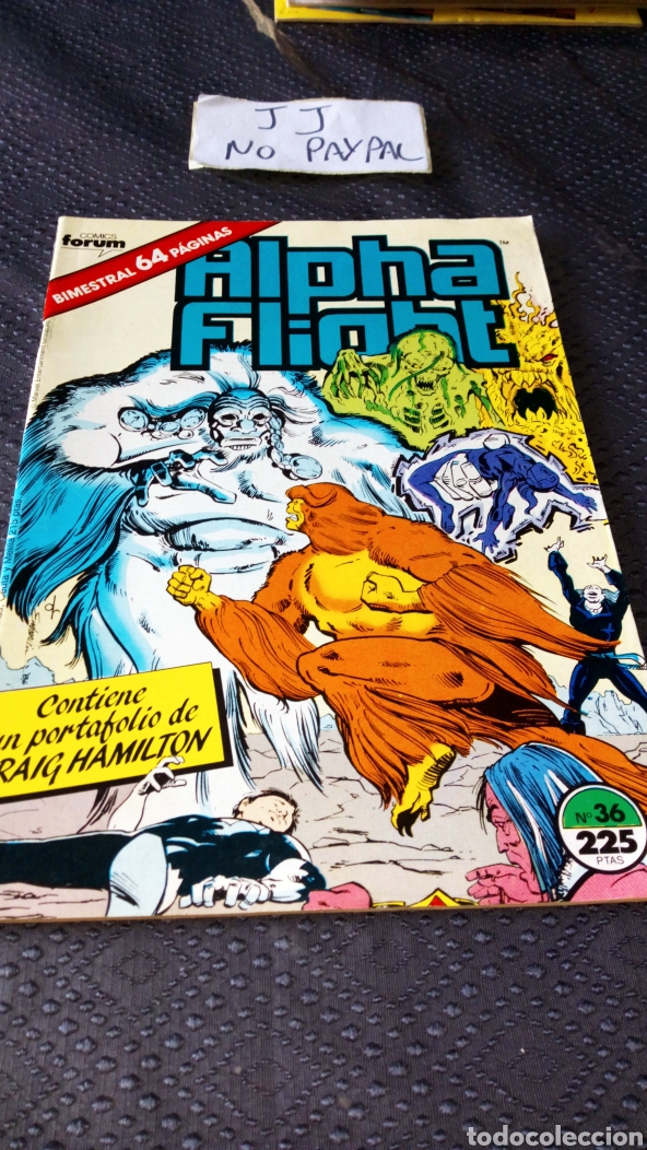 CÓMICS FORUM ALPHA FLIGHT 36 (Tebeos y Comics - Forum - Alpha Flight)