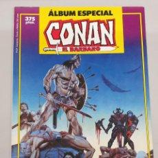 Cómics: CONAN EL BARBARO ALBUM ESPECIAL - 2 NUMEROS EXTRA - ESPECIAL VERANO - CLAVOS ROJOS / FORUM. Lote 219218931
