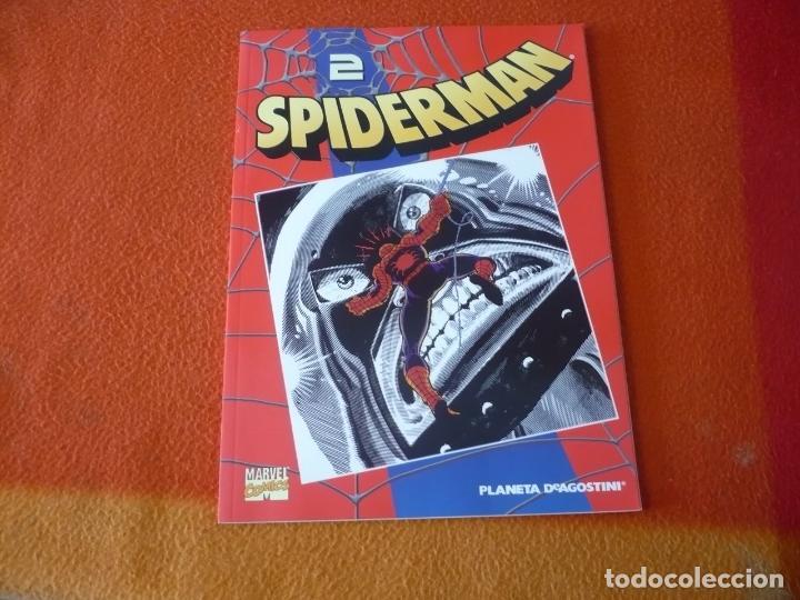 SPIDERMAN COLECCIONABLE 1 Nº 2 TRAMPA MORTAL ¡BUEN ESTADO! MARVEL FORUM ROJO (Tebeos y Comics - Forum - Spiderman)