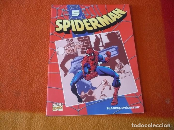 SPIDERMAN COLECCIONABLE 1 Nº 5 PISTOLAS ASESINAS ¡BUEN ESTADO! MARVEL FORUM ROJO (Tebeos y Comics - Forum - Spiderman)