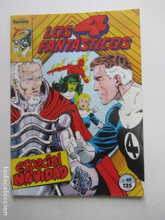 LOS 4 FANTÁSTICOS VOL I Nº 49 FORUM MUCHOS MAS A LA VENTA, MIRA TUS FALTAS E8 (Tebeos y Comics - Forum - 4 Fantásticos)