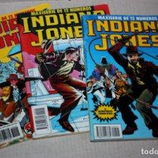 Comics: INDIANA JONES - NÚMEROS: 01, 04 Y 09 ( DE LA MAXISERIE DE 12 NÚMEROS DE 1990). Lote 219310650