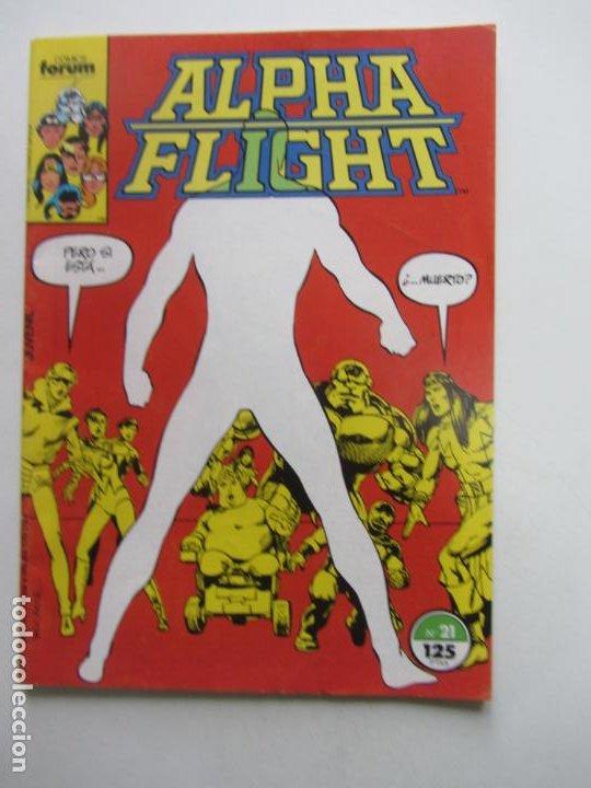 ALPHA FLIGHT VOL.1 Nº 17 FORUM MUCHOS MAS A LA VENTA, MIRA TUS FALTAS BUEN ESTADO E8 (Tebeos y Comics - Forum - 4 Fantásticos)