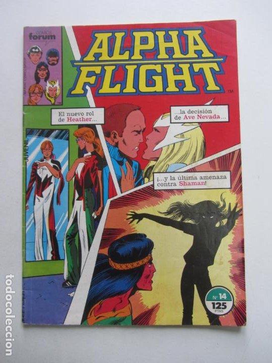 ALPHA FLIGHT VOL.1 Nº 14 FORUM MUCHOS MAS A LA VENTA, MIRA TUS FALTAS BUEN ESTADO E8 (Tebeos y Comics - Forum - 4 Fantásticos)