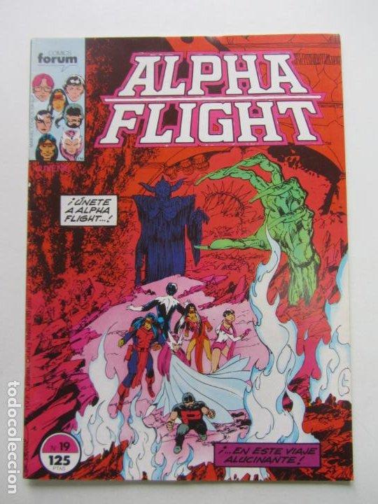 ALPHA FLIGHT Nº 19 FORUM MUCHOS MAS A LA VENTA, MIRA TUS FALTAS BUEN ESTADO E8 (Tebeos y Comics - Forum - 4 Fantásticos)