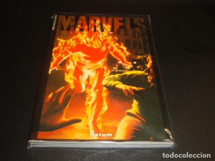 MARVELS COMPLETA 4 LIBROS BUEN ESTADO (Tebeos y Comics - Forum - Prestiges y Tomos)