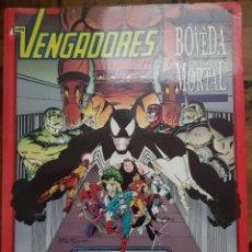Cómics: NOVELA GRÁFICA LOS VENGADORES: LA BOVEDA: TRAMPA MORTAL. FORUM. Lote 219344710