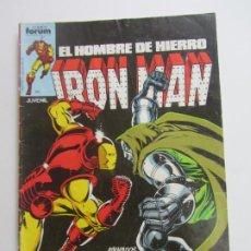 Comics: IRON MAN EL HOMBRE DE HIERRO Nº 8 VOL 1 FORUM MUCHOS MAS A LA VENTA, MIRA TUS FALTAS C17X5. Lote 219418557