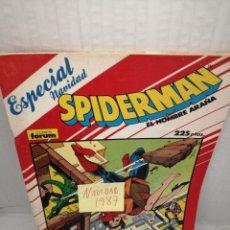 Cómics: SPIDERMAN, FORUM: ESPECIAL NAVIDAD 1987. Lote 219390200