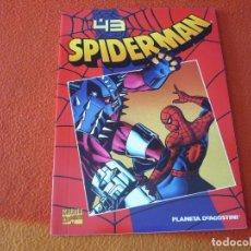 Cómics: SPIDERMAN COLECCIONABLE 1 Nº 43 EL CAMINO MAS LARGO ¡BUEN ESTADO! MARVEL FORUM ROJO. Lote 219467141