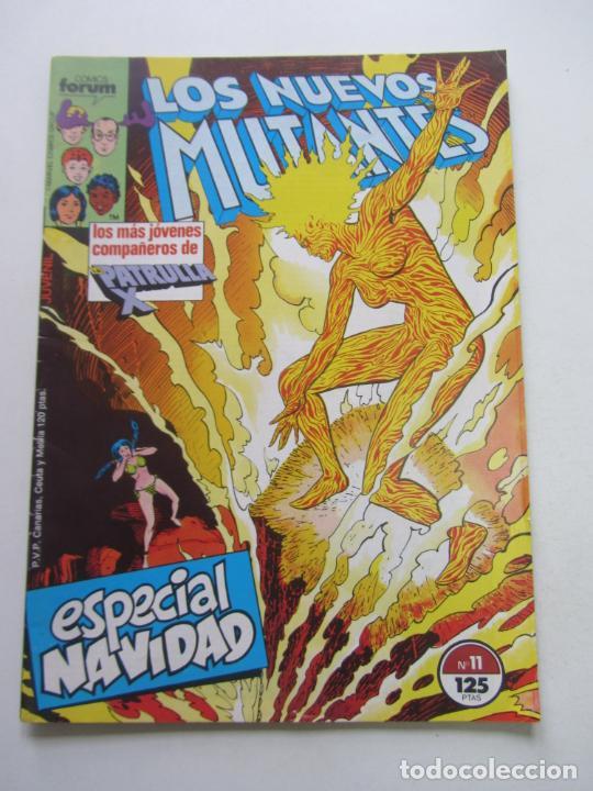 LOS NUEVOS MUTANTES. Nº 11 VOL 1 FORUM MUCHOS MAS A LA VENTA, MIRA TUS FALTAS E3 (Tebeos y Comics - Forum - Nuevos Mutantes)