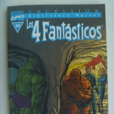 Cómics: EXCELSIOR BIBLIOTECA MARVEL - MARVEL COMICS , Nº 2: LOS 4 FANTASTICOS . FORUM. Lote 219570040