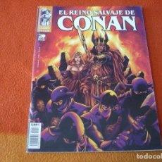 Cómics: EL REINO SALVAJE DE CONAN Nº 26 ( ZELENETZ SILVESTRI ) ¡BUEN ESTADO! FORUM MARVEL REY. Lote 219676035