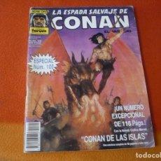 Cómics: LA ESPADA SALVAJE DE CONAN Nº 100 1ª EDICION SERIE ORO FORUM MARVEL CONAN DE LAS ISLAS. Lote 219676450