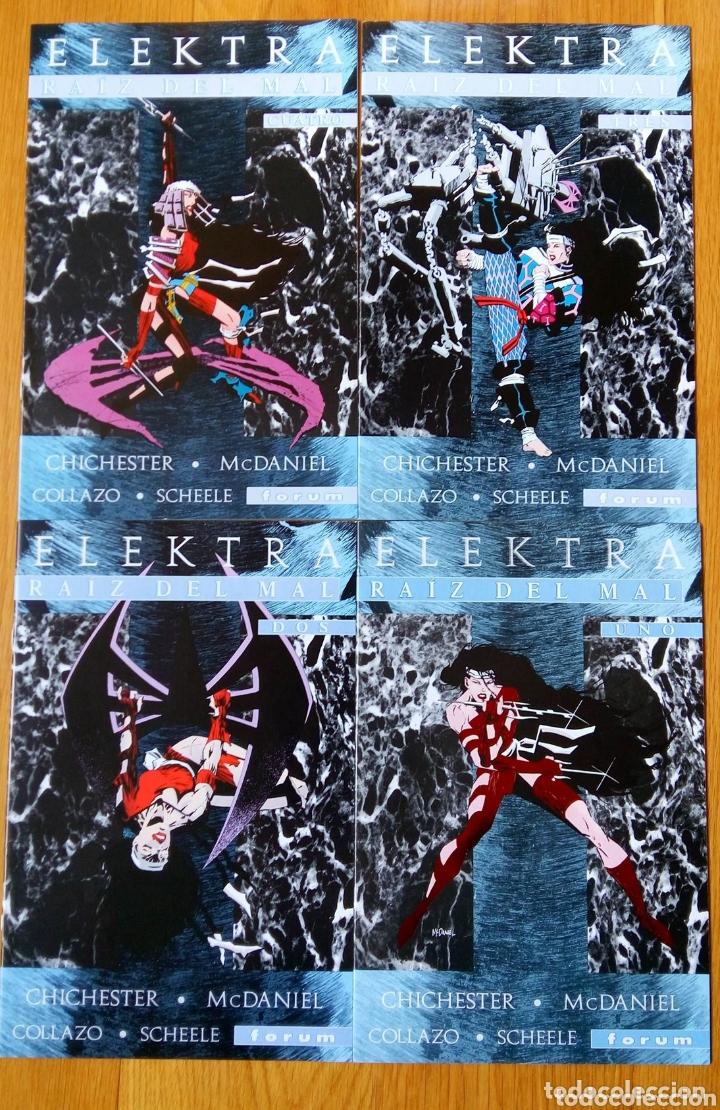 ELEKTRA RAÍZ DEL MAL (COMPLETA 4 NUMEROS) (Tebeos y Comics - Forum - Daredevil)