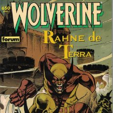 Cómics: WOLWERINE/LOBEZNO - RAHNE DE TERRA. Lote 219770361