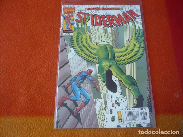 SPIDERMAN DE JOHN ROMITA Nº 10 ¡MUY BUEN ESTADO! FORUM MARVEL EXCELSIOR (Tebeos y Comics - Forum - Spiderman)