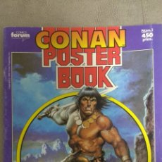 Cómics: CONAN PÓSTER BOOK. Lote 220103630