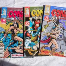 Cómics: CONAN EL BÁRBARO Nº 1,2 Y 3 - ROY THOMAS / BARRY SMITH. Lote 220105513