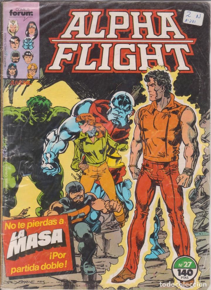 CÓMIC ALPHA FLIGHT Nº 27 ED. FORUM / MARVEL COLOR (Tebeos y Comics - Forum - Alpha Flight)