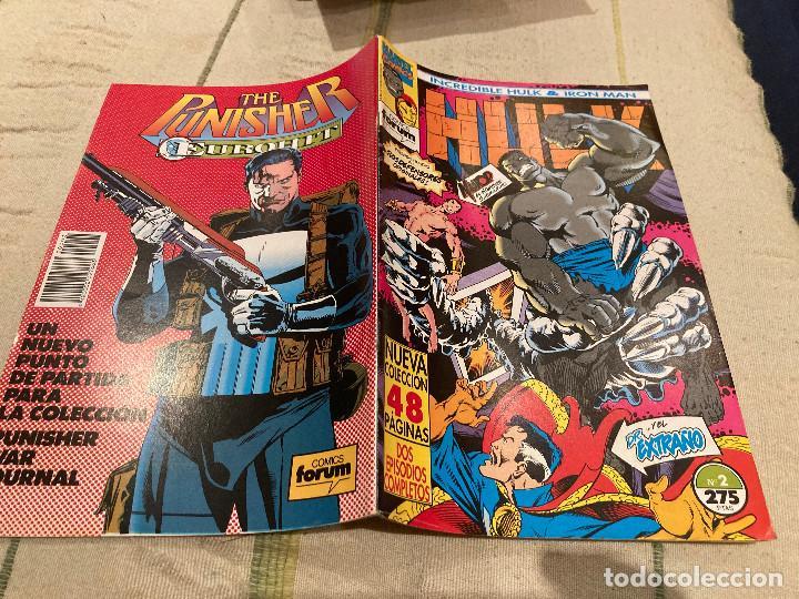 EL INCREIBLE HULK & IRON MAN Nº 2 DE 9 - FORUM (Tebeos y Comics - Forum - Hulk)