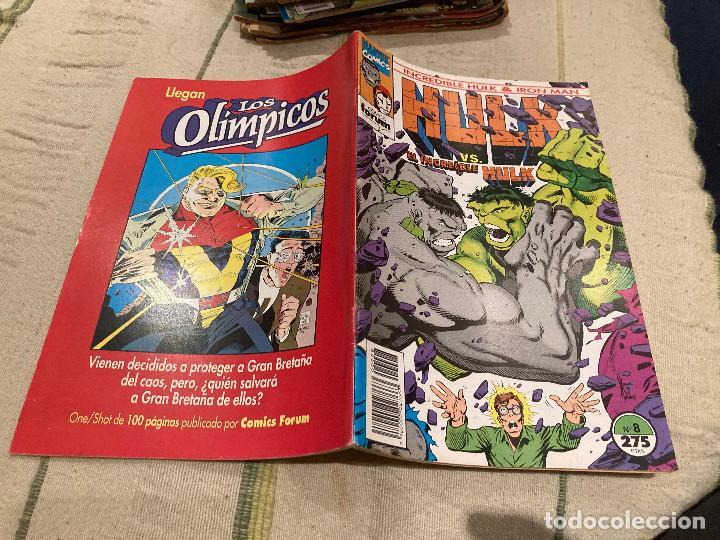 EL INCREIBLE HULK & IRON MAN Nº 8 DE 9 - FORUM (Tebeos y Comics - Forum - Hulk)