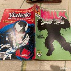Cómics: EL INCREIBLE HULK & IRON MAN Nº 9 ULTIMO NUMERO DE LA COLECCION - FORUM. Lote 220349591