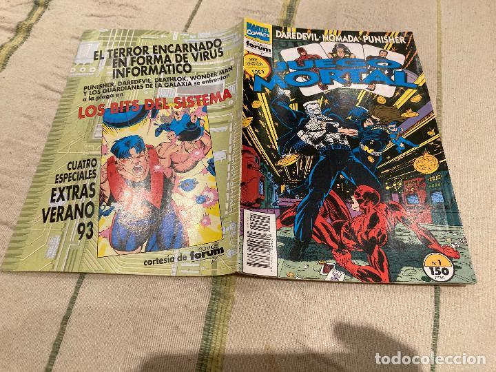 DAREDEVIL · NÓMADA · PUNISHER - JUEGO MORTAL N.º 1 DE 9 SERIE LIMITADA FORUM 1993 (Tebeos y Comics - Forum - Daredevil)