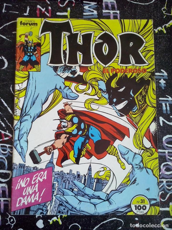 FORUM - THOR VOL.1 NUM. 31 . MUY BUEN ESTADO (Tebeos y Comics - Forum - Thor)