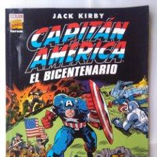 Cómics: JACK KIRBY- CAPITÁN AMÉRICA- EL BICENTENARIO-AÑO 2000-EDICIÓN GIGANTE 34X23 CM. Lote 220369846
