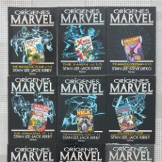 Cómics: ORIGENES MARVEL. COLECCIÓN COMPLETA DE 9 TOMOS. COMICS FORUM 1991. Lote 220389733
