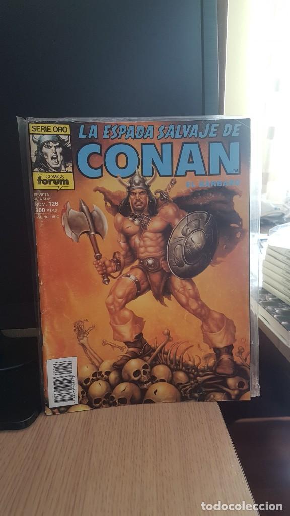 LA ESPADA SALVAJE DE CONAN NUMEROS 126 - 139 - 142 (Tebeos y Comics - Forum - Conan)