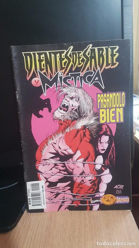 DIENTES DE SABLE Y MISTICA (Tebeos y Comics - Forum - X-Men)
