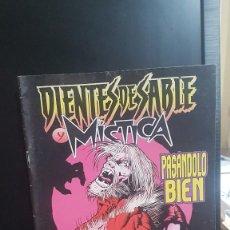 Cómics: X MEN . DIENTES DE SABLE Y MISTICA. Lote 220422770
