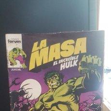 Cómics: HULK . LA MASA. Lote 220435891
