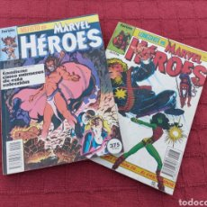Cómics: RETAPADO MARVEL HEROES COMICS FORUM ( MEFISTO, LONGSHOT,EL CASTIGADOR, HULKA,SPIDERMAN, PATRULLA X. Lote 220463565