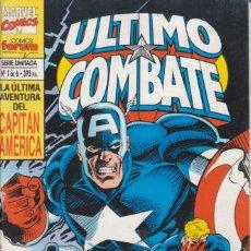 Comics : CÓMIC MARVEL, ÚLTIMO COMBATE / CAPITÁN AMÉRICA Nº 1 ED, PLANETA / FORUM 64 PGS.. Lote 220466220